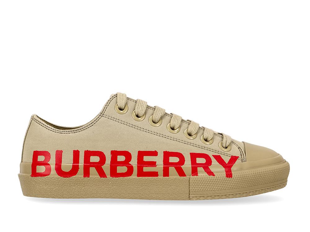버버리(BURBERRY) (LF LARKHALL 8037649) 남성 로고 스니커즈 21SS