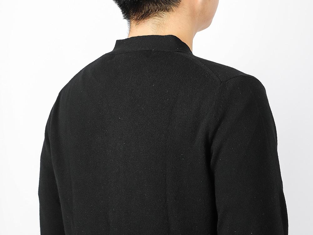 꼼데가르송(COMME DES GARCONS) (P1N076 BLACK) 남성 하트 로고 가디건 21SS